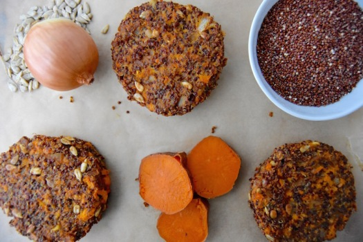 homemade-quinoa-and-sweet-potato-veggie-burgers-uprootkitchen-com_-1